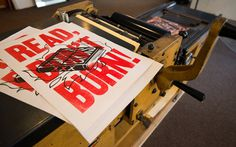 Lead Image #letterpress #typography