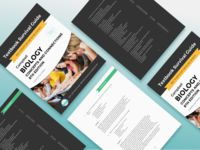 Studysoup Textbook Survival Guide Print Layout Design