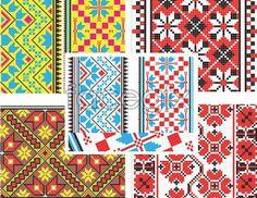 Pixel vector cross stitch pattern mosaic #mosaic