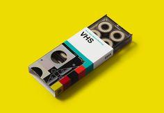 VHS skateboard bearings by GoldCoast skateboards. #bearings #helvetica #VHS