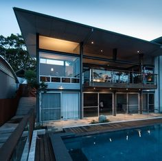 Exquisite Views and Fine Modern Details: Dudley Residence in Australia #architecture #modern