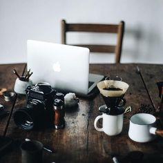 #interior #design #desk #coffee