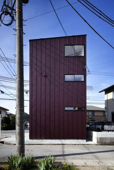 Adzuki House / Horibe Naoko Architect Office #houses #architecture #facades