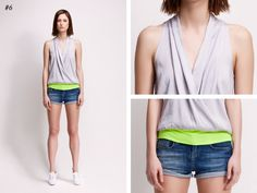 asu aksu / collections / ss2012 borderline no 6 #asu #collection #aksu #borderline #summer #grey #fashion #neon