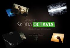 Nouvelle Skoda Octavia #design #web #parallax
