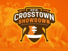 Crosstown_showdown #vector #badge #showdown #crosstown #logo #football
