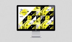 EMAF '12 - joaoricardomachado #modern #yellow #design #graphic #shapes #poster