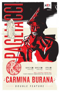 Pagliacci — Poster   Joy Stain