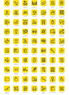 Gelbe Seiten Peter Kohl Creative Director #icon #picto #symbol #sign