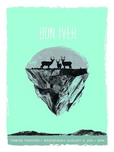GigPosters.com - Bon Iver #poster