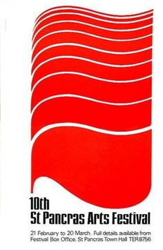 ken garland & associates:graphic design:st pancras #1964 #illustration #poster #typography