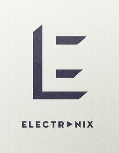 electronix-E-large.jpg (1000×1278) #logo #identity #music #brand #blog #com #electronix #lxrkan