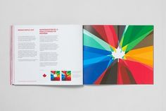 Canadian Olympic Team Rebrand | Designlov #branding #brochure #rebrand #colour #brand guidelines #canadian olympic team