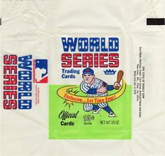 world series #world #series #baseball #trading cards