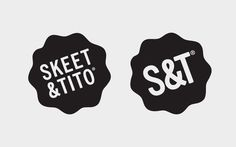 Skeet & Tito Logo, by Hassan Rahim #graphic design #design #logo #creative #inspiration