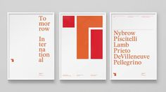 Tomorrow International — DIA — Strategy | Branding | Design | Motion #poster