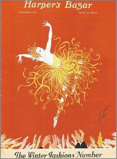 mischief + madness: fashion #harpers #illustration #journalism #fashion #bazaar #magazine #dancer