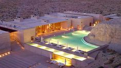 A Perfect Getaway - Amangiri Luxury Resort Hotel in Canyon Point, Utah. #Amangiri