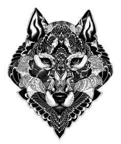 Wildlife, by Iain Macarthur #graphic design #design #illustration #creative #animal #black and white #inspiration