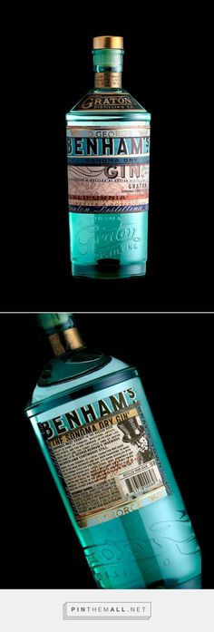 Graphic design, Illustration and packaging for Benham's Gin on Behance by Stranger & Stranger New York, NY curated by Packaging diva PD. St