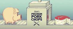 herr heer #illustration #butcher #gif