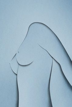 Eiko Ojala » Naked #naked #woman #paper art #paper cut