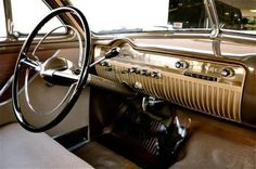 Classic Ford, Ford, Classic Car, car interior, mercury coupe, dashboard, retro, vintage, photography