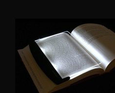 The Bookmark Lamp not only lights up your pages in dark but can also double as a bookmark!