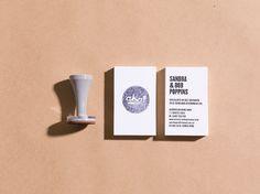 Australian Home Away - DAVID TORR #print #stamp #business #card
