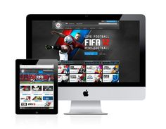 EA SPORTS FIFA 12 on Web Design Served #website