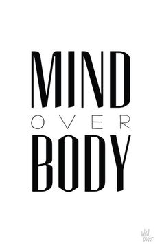 About #inspiration #white #quote #motivation #mind #body #black #poster #typography