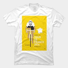 Tour de France T-shirt #fashion #illustration #design #tshirt