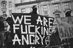 Angry #anarchy #crisis #angry #photography