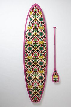 Limited-Edition Stand-Up Paddleboard, Kai Malo'o - anthropologie.com #board #pattern