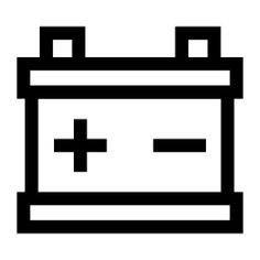 See more icon inspiration related to power, starter, Tools and utensils, transportation, electronics, battery and car on Flaticon.