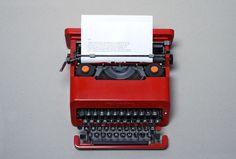 Ryan Dixon #olivetti #1969 #typewriter #valentine