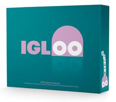 IGLOO #packaging #interbrand #brand #identity #logo #australia #character