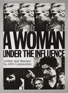 Go See 'A Woman Under the Influence' on Tuesday Night | VICE United States #woman #a #influence #the #john #poster #under #layout #cassavetes