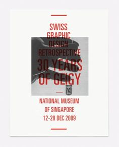 FFFFOUND! | Strukturblog. #exibition #swiss #design #graphic #poster #condensed #type