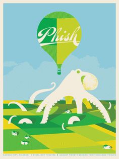 Us & Them - Phish #them #& #screenprint #sei #rey #ho #poster #us