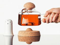 Beautiful teapot #form #accessories #home #glass #kitchen #teapot