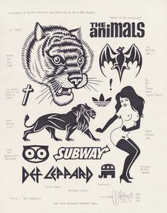 The Animals by Mike Giant, 2013. #tiger