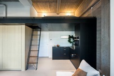Former Office Spaces in Amsterdam Converted into High-End Urban Lofts
