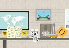 Workbrands Studio // Website & illustration #graphic #website #illustration #info #colour