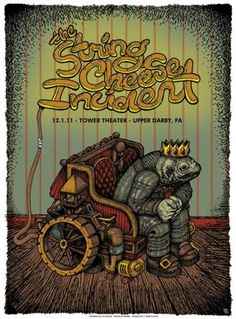 GigPosters.com - String Cheese Incident #cheese #string #bone #the #aljaxx #incident
