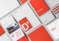 Dalman Architects | Brand Identity on Behance