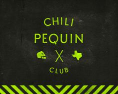 CHILI PEQUIN CLUB on Behance #branding #cpc #logo #skull #neon