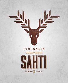 Sahti #logotype #identity #beer