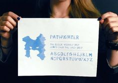 Laura Knoops - Graphic design #design #water #knoops #typography