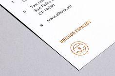 Albura on Branding Served #stamp #print #brand #gold #foil